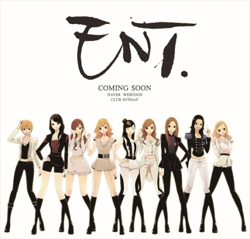 Girls' Generation to Make Cameo Appearance on Webtoon 'ENT