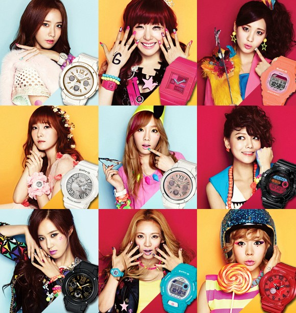 Casio Opens Official Baby-G Website Featuring Girls ...