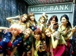 SNSD Music Bank