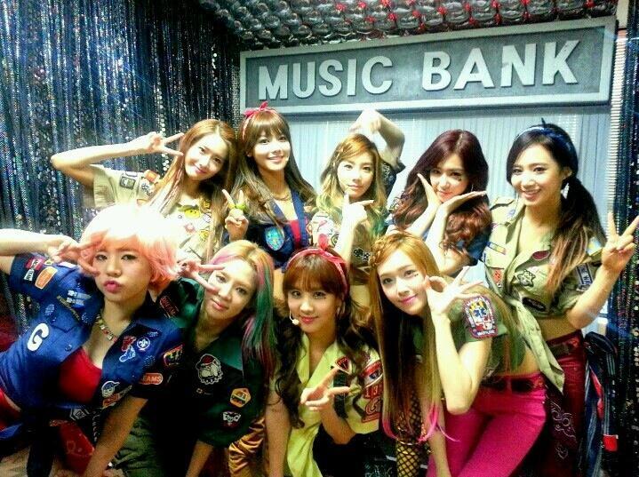 SNSD Music Bank
