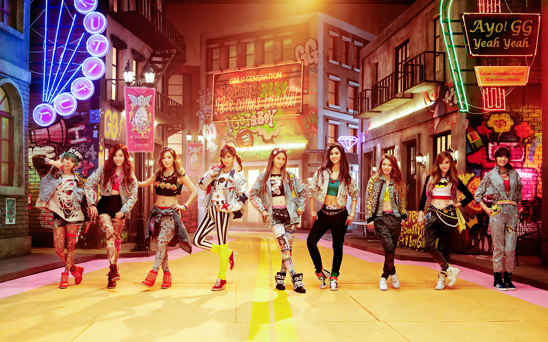 Update Girls Generation Releases I Got A Boy And Receives An All Kill On Korean Charts