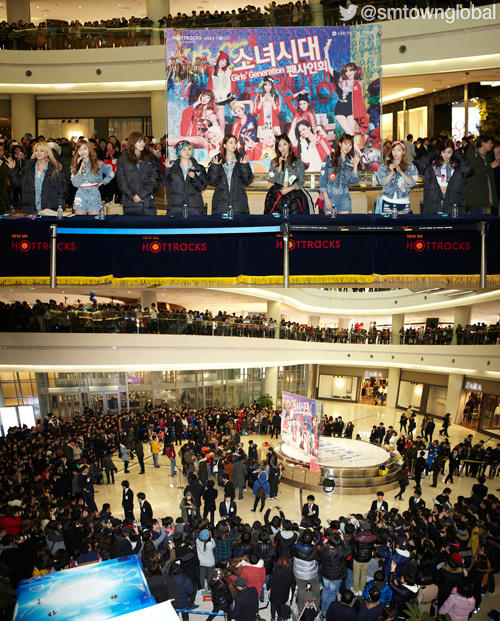 SNSD Fansign event