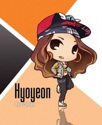 hyoyeon fanart