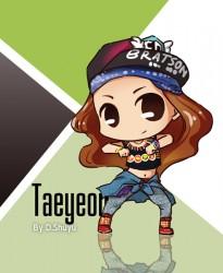 taeyeon fanart