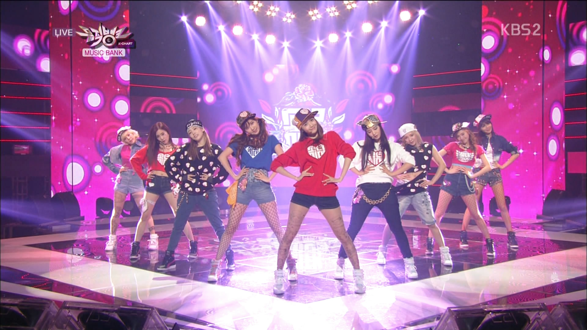 Girls generation special stage