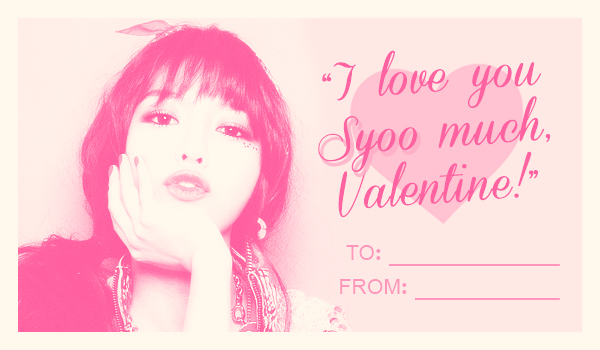 sooyoungvalentine