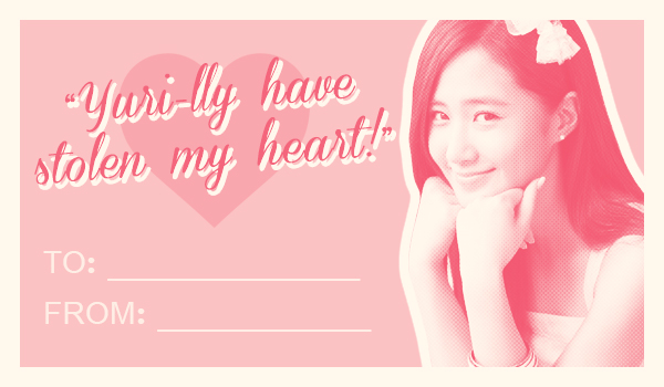 Soshified Presents Soshi Valentines Day Cards – Girl Valentine Cards