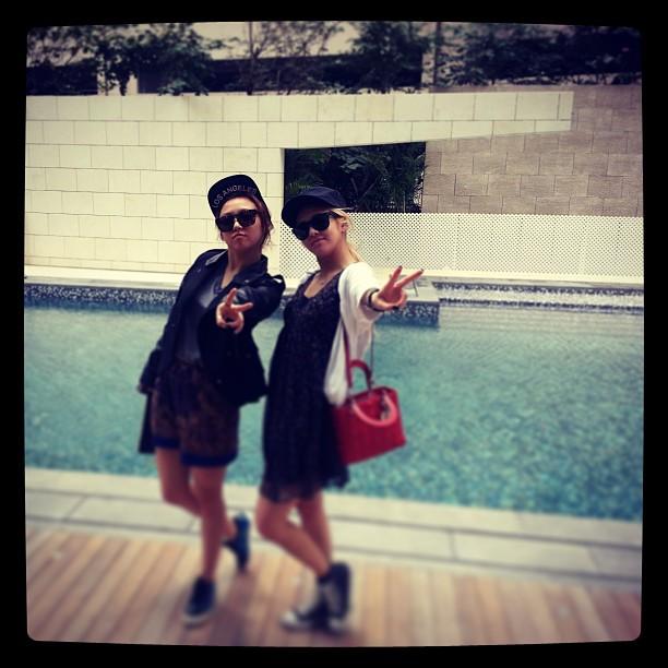 hyoyeon and min