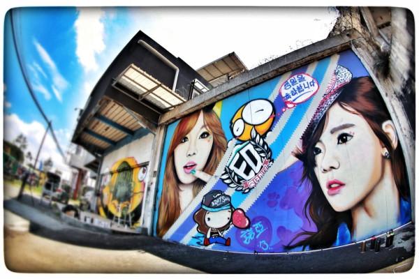 taeyeon graffati