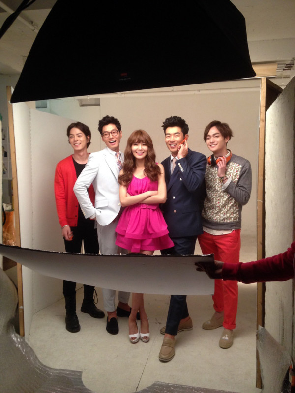 dating agency: cyrano poster shoot