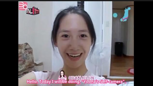 yoona selfcam