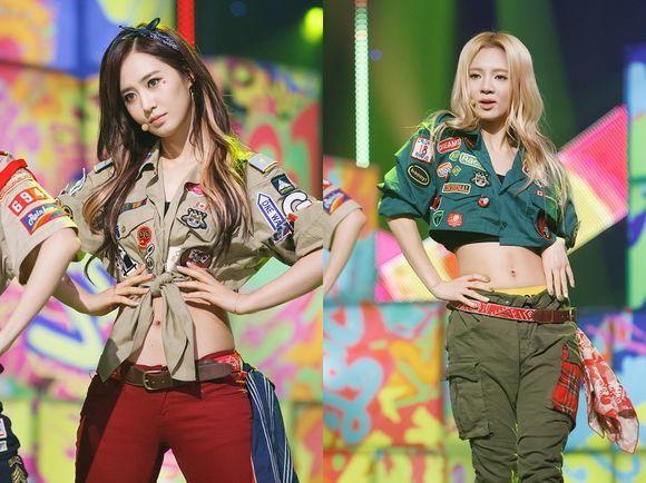 hyoyeon yuri dancing 9