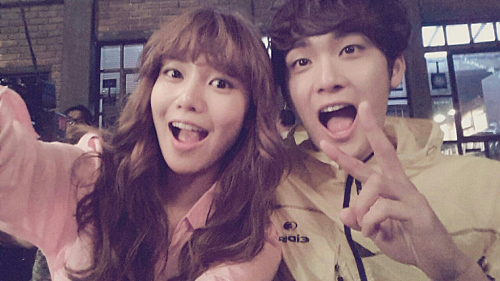 Sooyoung and Jo Yoonwoo 2