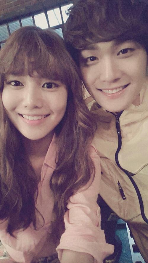 Sooyoung and Jo Yoonwoo