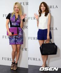130725 hyoyeon yoona FURLA event