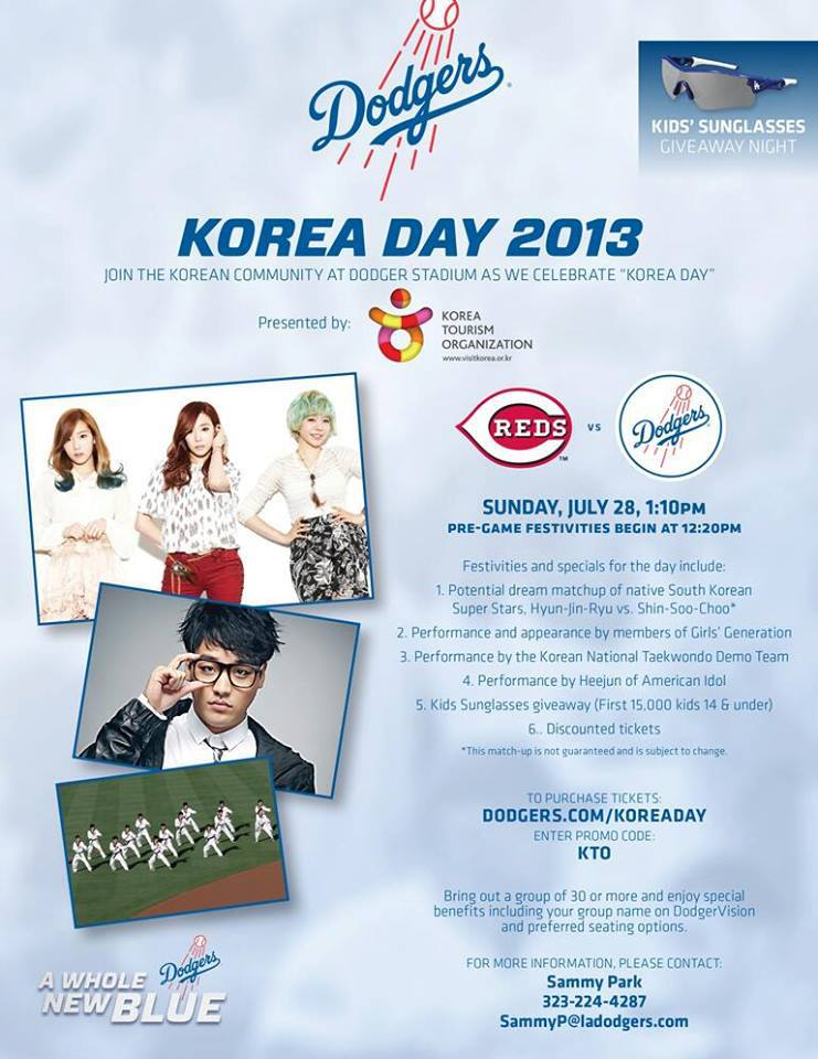 Dodgers Korea Day 7132013