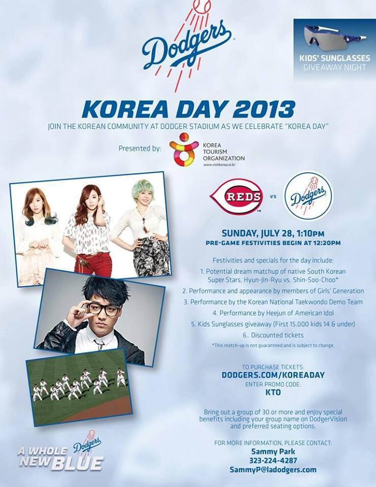 Dodgers Korea Day 7132013