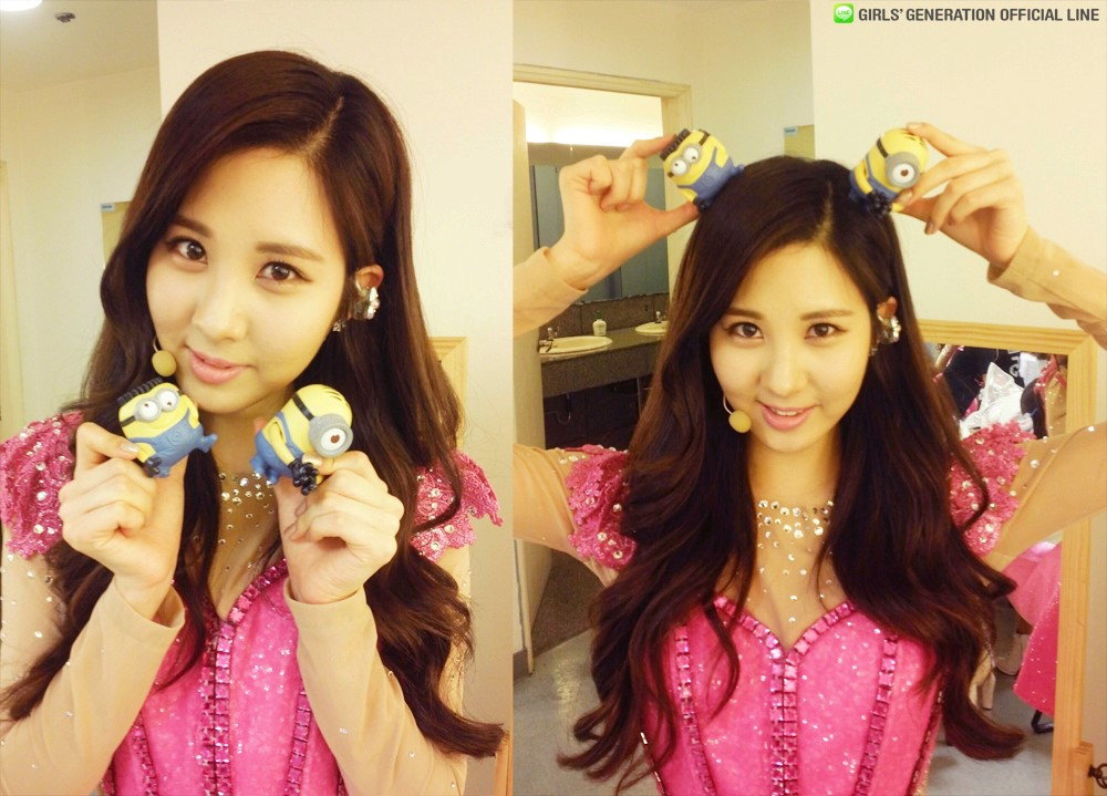 130722 seohyun gg line with minions