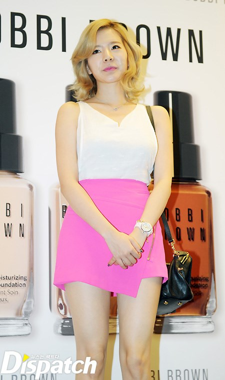 {130802} Sunny @ BOBBI BROWN 'Foundation Cafe' acto de apertura 201382183515o2czpho_T5_47578