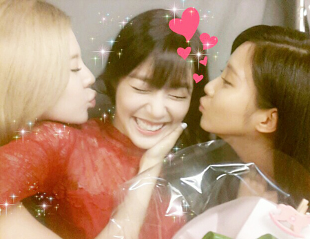 seohyun says happybday to fany