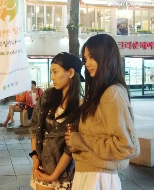taeyeon seohyun gg twitter 2