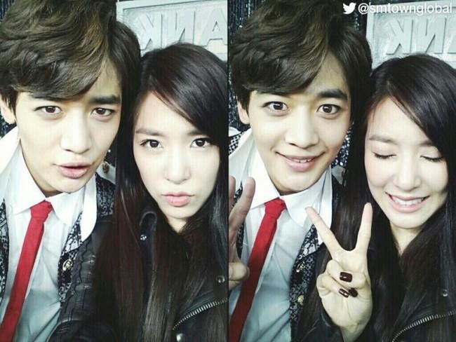 Tiffany and Minho