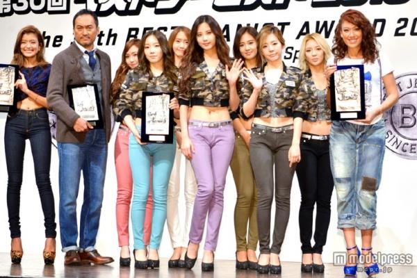 snsd japan award