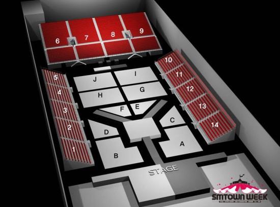 smtown week seating plan