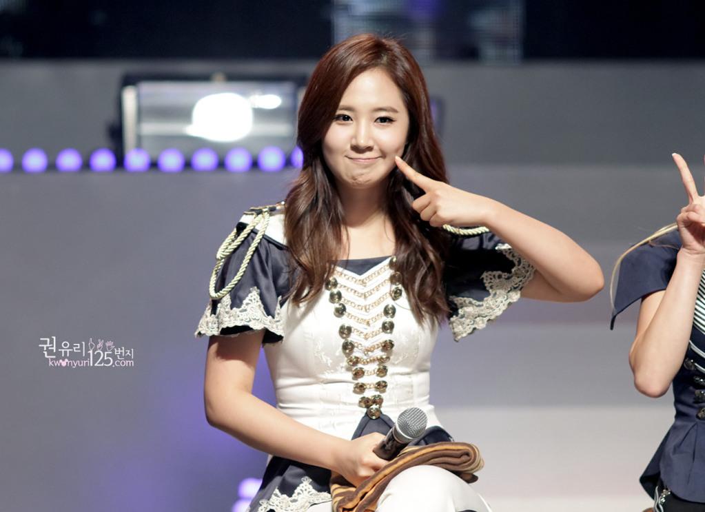 yuri smile