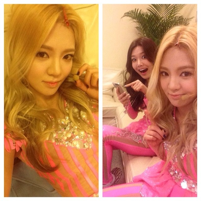 hyoyeon sooyoung instagram