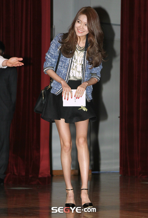 sooyoung takes part in doublem �styling talk concert�