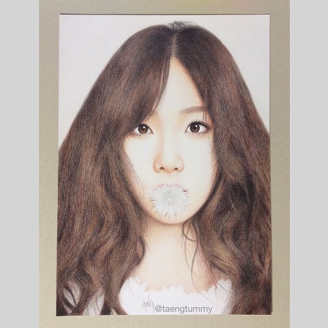 taeyeon wowow is this really not a photo