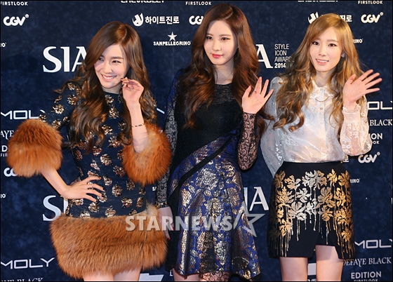 "[141028] Girls' Generation – TTS — ""Premios Style Icon 2014"" 2014102820104039359_1"