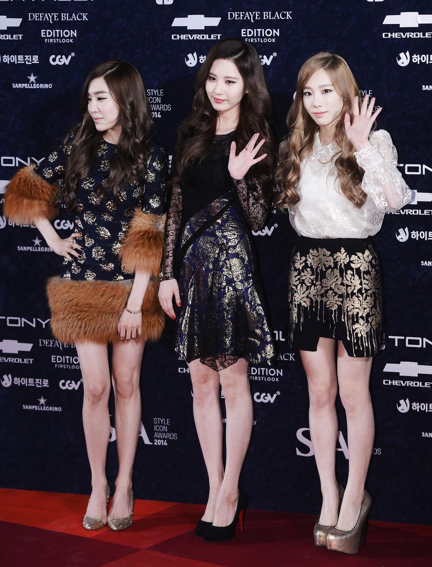 "[141028] Girls' Generation – TTS — ""Premios Style Icon 2014"" 4"