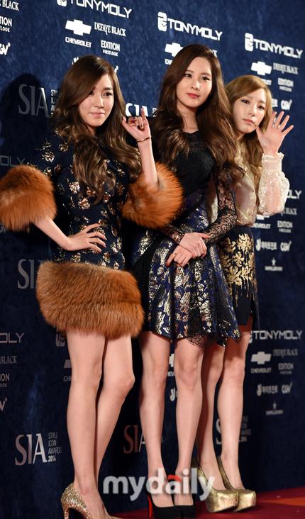 "[141028] Girls' Generation – TTS — ""Premios Style Icon 2014"" Mydaily_20141028201406985"