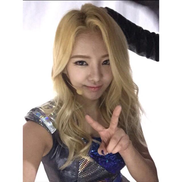 hyoyeon weibo