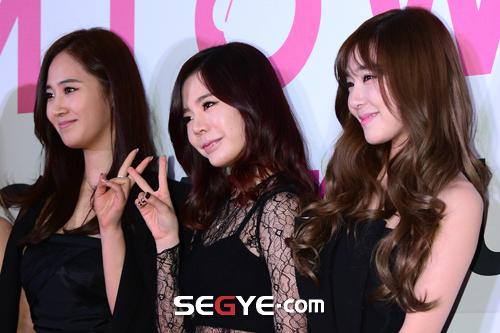 """[150113] Sunny, Tiffany, Hyoyeon y Yuri — Gran Ceremonia de Apertura de  """"SMTOWN@coexartium"""" 20150113002683_0"""