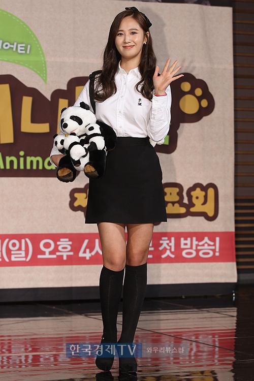 Yuri: Conferencia de prensa para nuevo programa de variedades 'Animals' 2015012216372145_1_choijiye