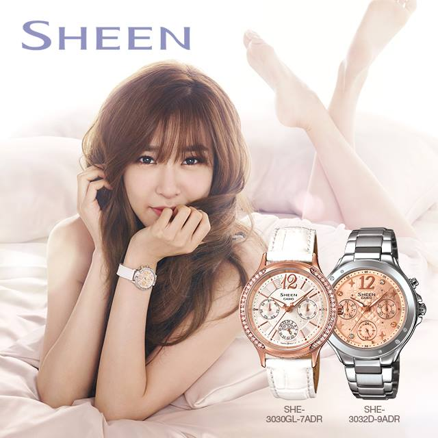 tiffany casio