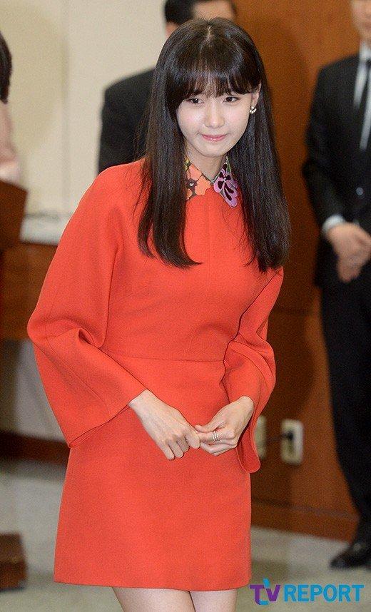 Yoona Asiste a la Ceremonia de Nombramiento al Embajador Nacional de Impuestos y Servicios Yoona1