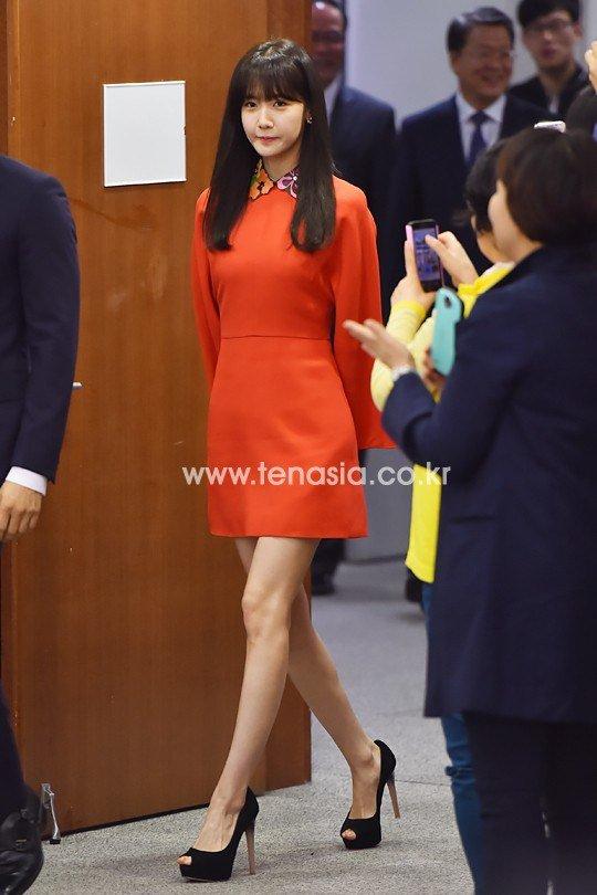 Yoona Asiste a la Ceremonia de Nombramiento al Embajador Nacional de Impuestos y Servicios Yoona14
