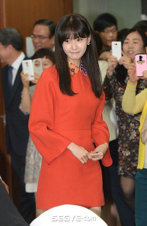 Yoona Asiste a la Ceremonia de Nombramiento al Embajador Nacional de Impuestos y Servicios Yoona17