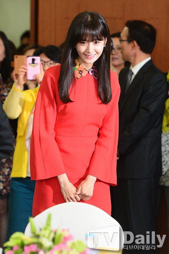 Yoona Asiste a la Ceremonia de Nombramiento al Embajador Nacional de Impuestos y Servicios Yoona19