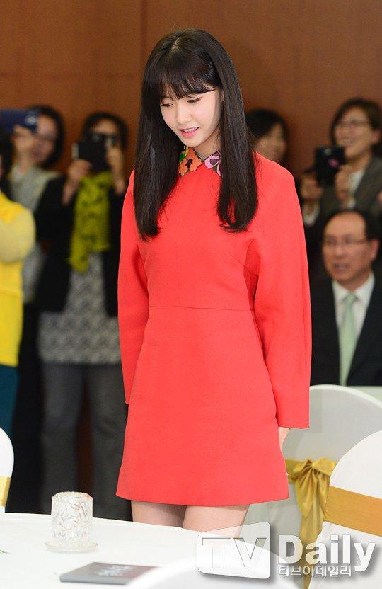 Yoona Asiste a la Ceremonia de Nombramiento al Embajador Nacional de Impuestos y Servicios Yoona20
