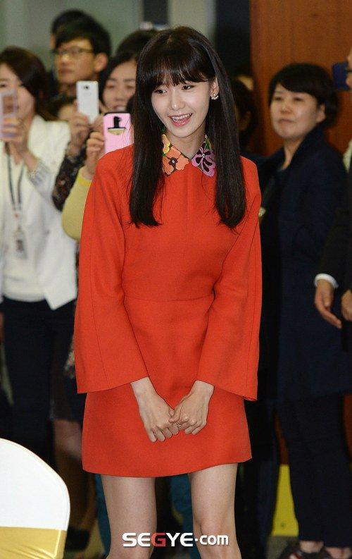 Yoona Asiste a la Ceremonia de Nombramiento al Embajador Nacional de Impuestos y Servicios Yoona21