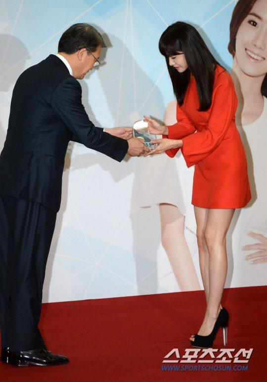 Yoona Asiste a la Ceremonia de Nombramiento al Embajador Nacional de Impuestos y Servicios Yoona27