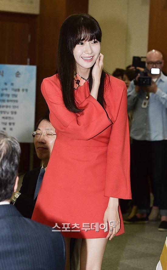 Yoona Asiste a la Ceremonia de Nombramiento al Embajador Nacional de Impuestos y Servicios Yoona29