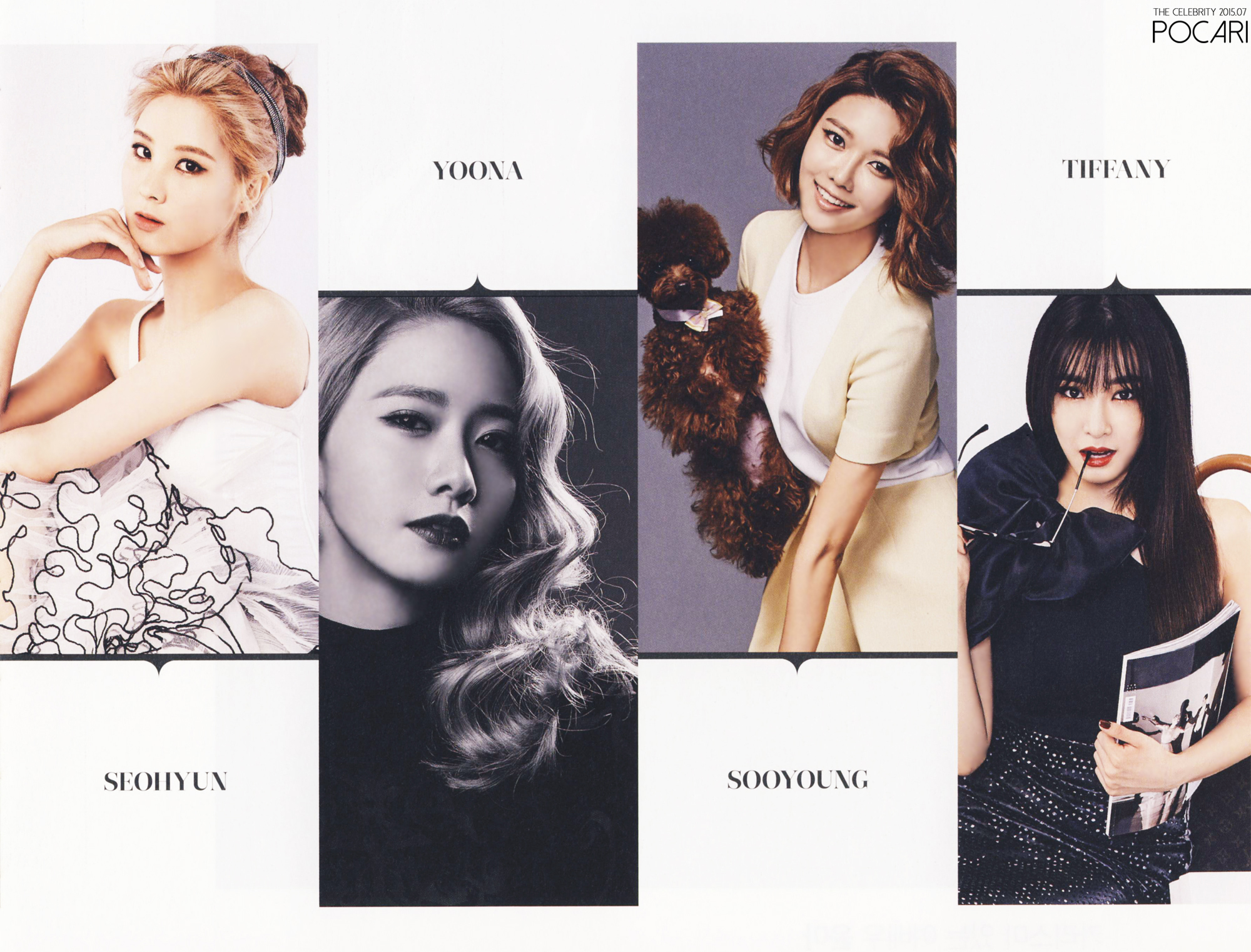 The Celebrity Magazine Features Girls Generation For A