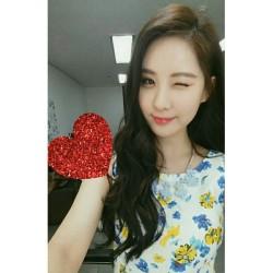 seohyun hearts hearts hearts