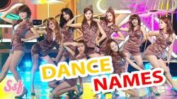 Dance Names
